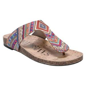Sam and Libby footbed sandals